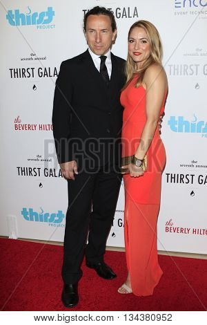 LOS ANGELES - JUN 13:  Michael Trainor, Brooke Nevin at the 7th Annual Thirst Gala at the Beverly Hilton Hotel on June 13, 2016 in Beverly Hills, CA