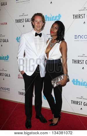 LOS ANGELES - JUN 13:  Mack Cornwell, guest at the 7th Annual Thirst Gala at the Beverly Hilton Hotel on June 13, 2016 in Beverly Hills, CA