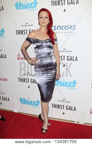 LOS ANGELES - JUN 13:  Summer Soltis at the 7th Annual Thirst Gala at the Beverly Hilton Hotel on June 13, 2016 in Beverly Hills, CA