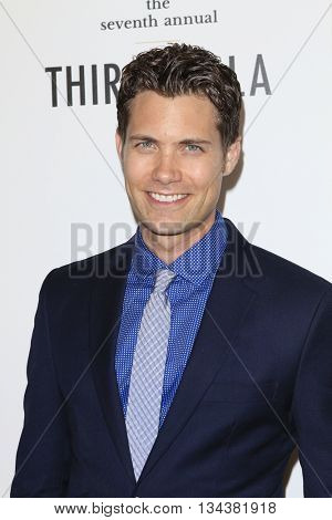 LOS ANGELES - JUN 13:  Drew Seeley at the 7th Annual Thirst Gala at the Beverly Hilton Hotel on June 13, 2016 in Beverly Hills, CA
