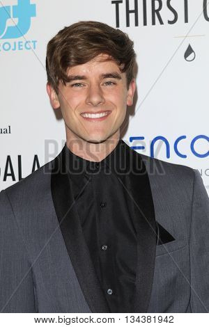 LOS ANGELES - JUN 13:  Connor Franta at the 7th Annual Thirst Gala at the Beverly Hilton Hotel on June 13, 2016 in Beverly Hills, CA