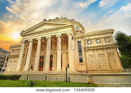 Bucharest / Bucuresti Ateneul Roman, Romanian Ateneum