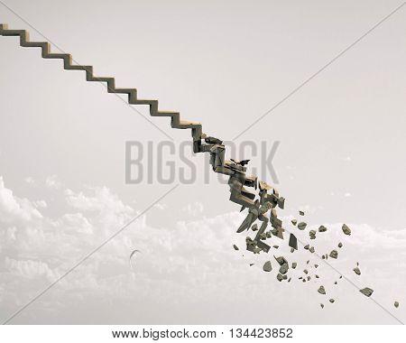 Ruins of success ladder