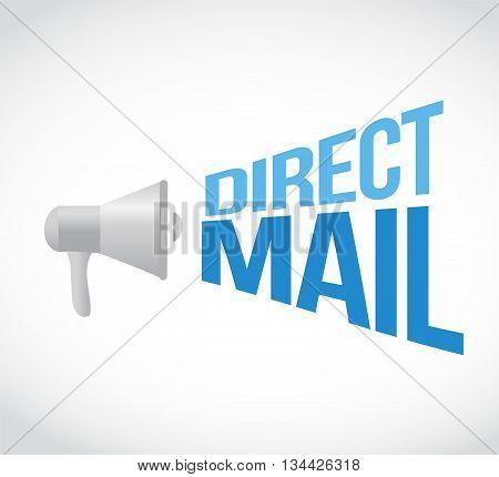 Direct Mail Megaphone Message