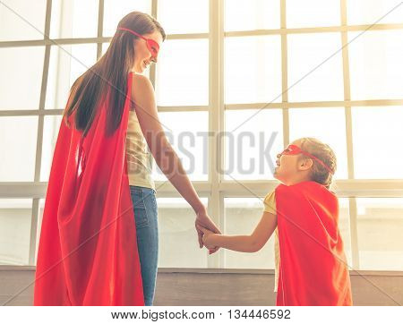 Super Mother And Daughter