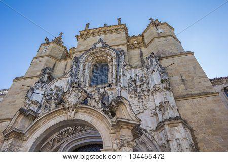 Igreja De Santa Cruz In Coimbra