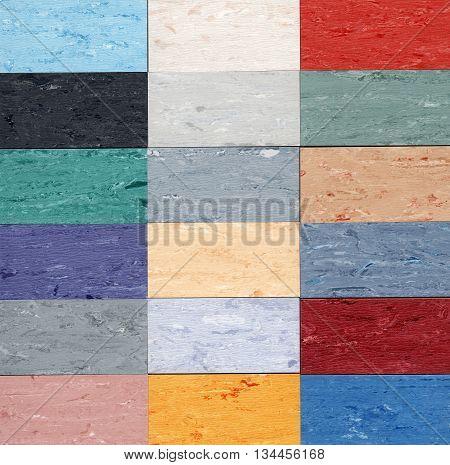 kolorowa tekstura w dużym formacie do wykorzystania jako całość lub każdy kolor z osobna