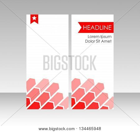 Brochure leaflet cover, for business and corparate use