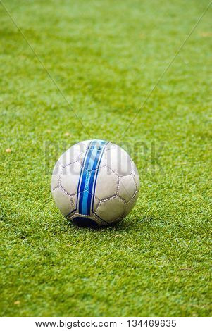 Soccer Ball On The Ground