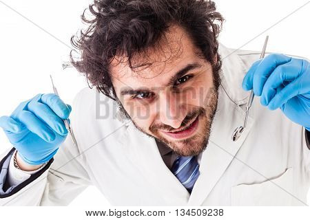 Young Handsome Dentist