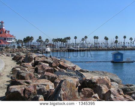 Jetty At Long Beach