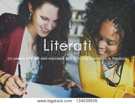 Literati Literature Highly Educated Literate Knowledge Concept