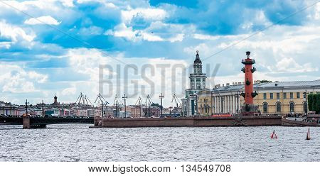 Vasilyevsky Island Spit