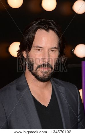 LOS ANGELES - JUN 14:  Keanu Reeves at the The Neon Demon Premiere at the Cinerama Dome on June 14, 2016 in Los Angeles, CA