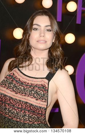 LOS ANGELES - JUN 14:  Sophie Simmons at the The Neon Demon Premiere at the Cinerama Dome on June 14, 2016 in Los Angeles, CA