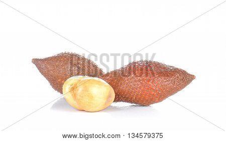 Sala fruit superior isolated on white background. poster