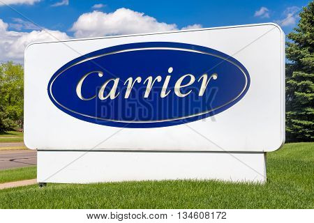 Carrier Corporation Sign And Logo