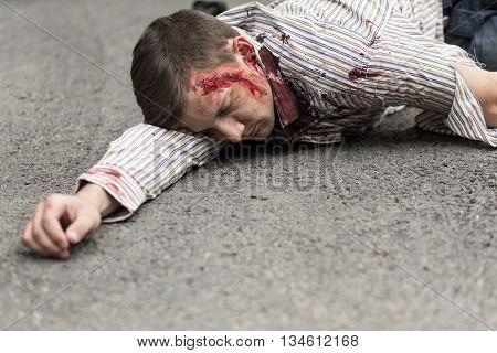 Car Accident Victim