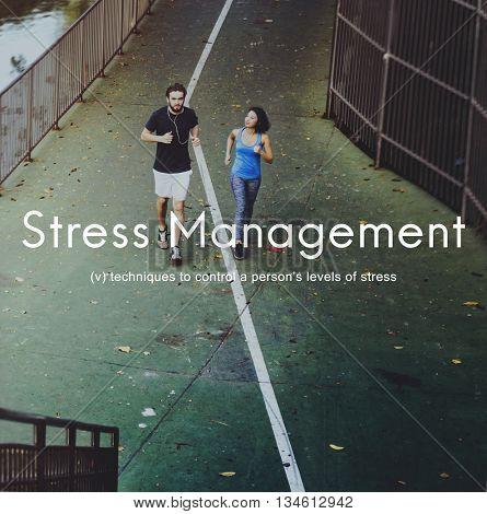 Stress Management Keep Calm Relaxation Calmness Concept