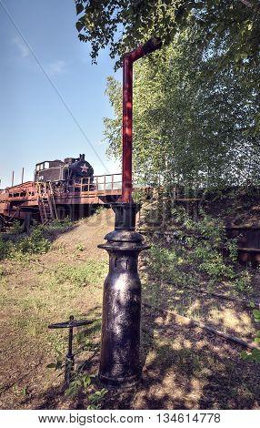 Old Shunting Locomotive 9Pm-161