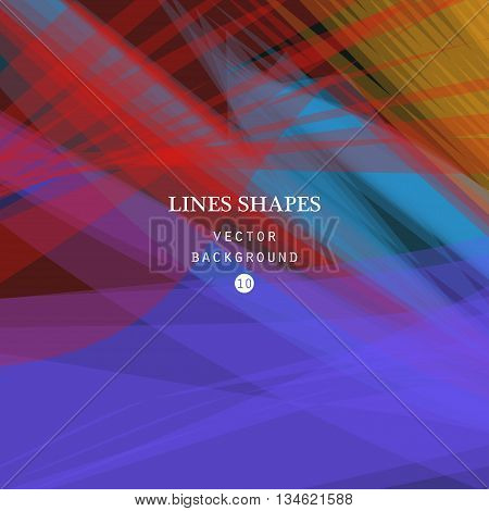 Colorful abstract vector background red purple transparent wave lines shapes for brochure website and flyer design. Blue smoke wave form. Purple wavy shapes background.