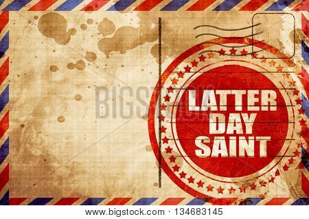 latter day saint
