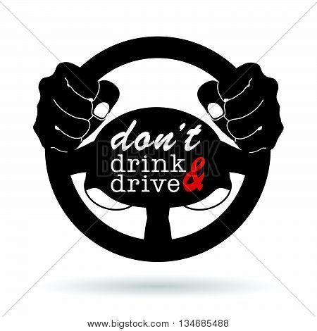 Dont Drink And Drive Icon Illustration