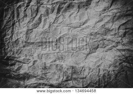 Grunge crumpled dark grey paper texture, crumpled paper, paper texture background