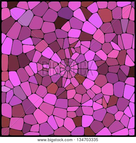 abstract pink background,  square simple vector illustration