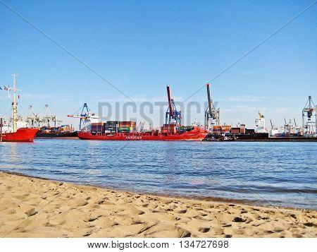 Hamburg Harbor / Port, Germany