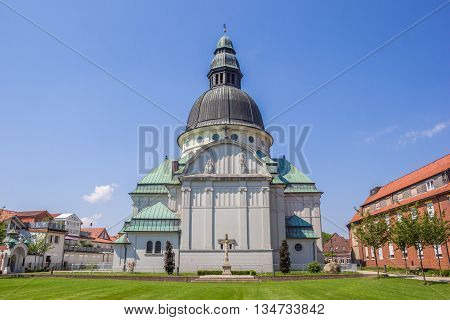 Emsland Dom Church In The Center Of Haren