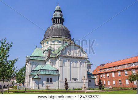 Sankt Martinus Church In Historical Town Haren