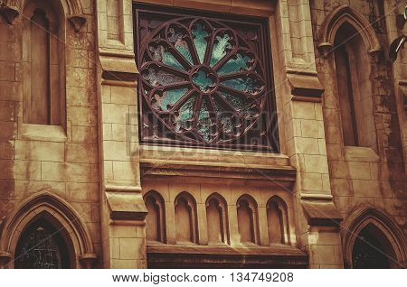 Historic Landmark Gothic Style Episcopal Church Cathedral