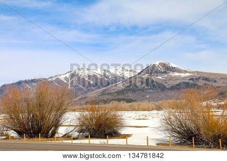 The la Plata mountains in Mancos, CO