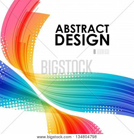 Abstract technology, background business template, multicolored composition