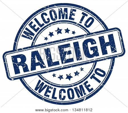 welcome to Raleigh stamp. welcome to Raleigh.