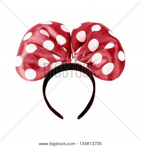 The headbands isolated on a white background