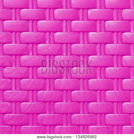 Plastic weave pattern texture and background; purple color