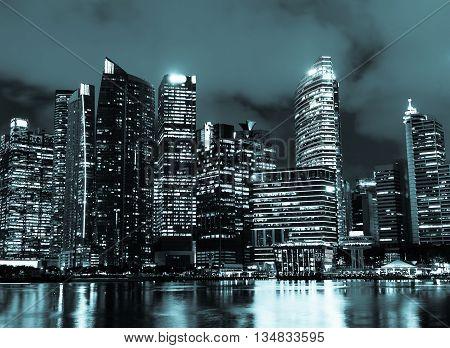 Skyscraper Cityscape
