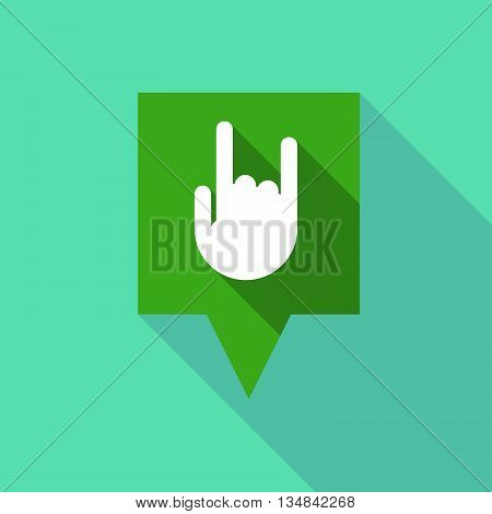 Long Tooltip Icon With A Rocking Hand