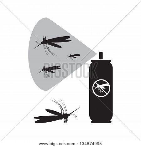 Mosquito Spray Icon