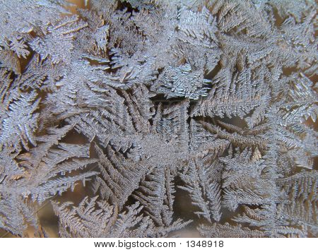 Ice Patterns Closeup