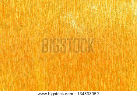 Shiny Yellow Gold Foil Texture For Background