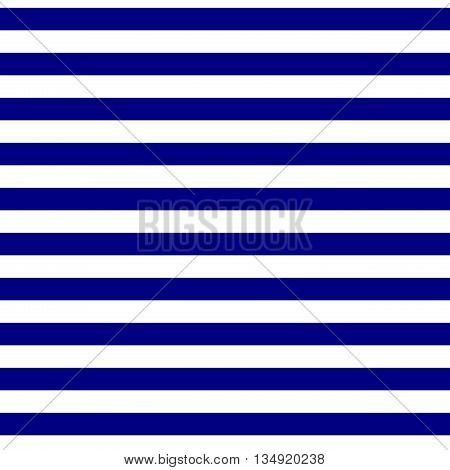 Seamless geometric horizontal striped pattern. Abstract background. Blue and white stripes. Modern navy blue stripes background. Tileable wallpaper pattern