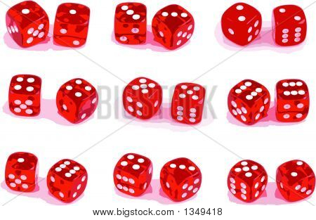 9 Sets Of Dice \(Eps8\).Eps