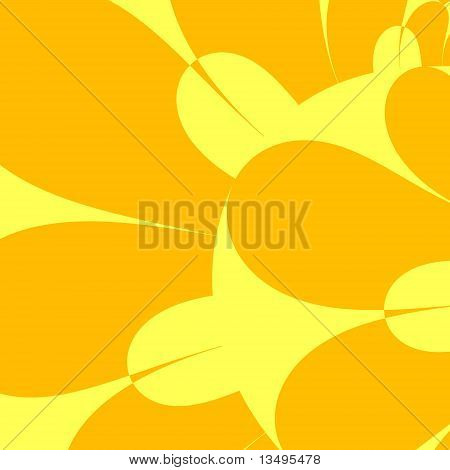 Petals in Yellow and Orange