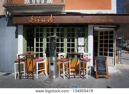 Bindi Restaurant Front