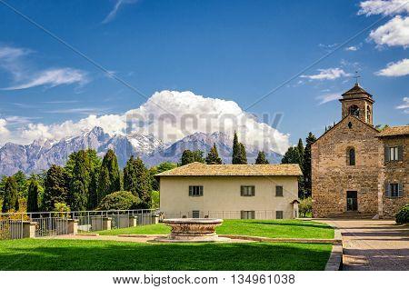 Piona Abbey Lake Como (Lago di Como)