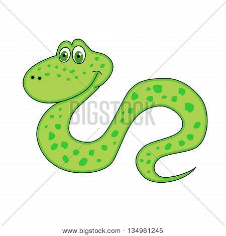 The snake Chinese a New Year symbol