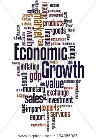 Economic Growth, Word Cloud Concept 5